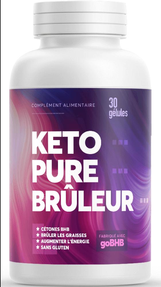 Bouteille Keto Pure Brûleur